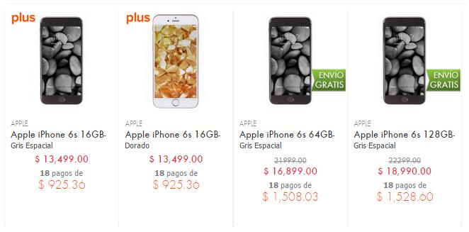 iphone 6s precios linio